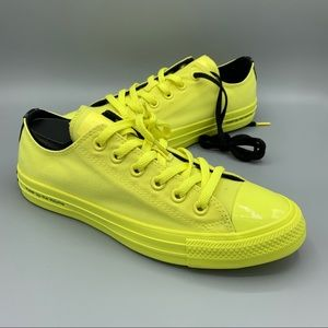 NEW Womens Converse CTAS OX Zinc Yellow Sneakers